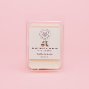 Grapefruit & Bamboo Wax Bar